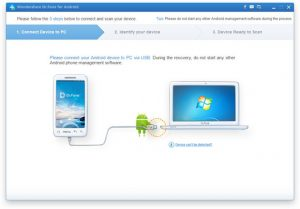 how to use wondershare Dr Fone for Android