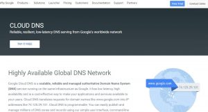 Google Cloud DNS