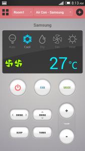 ASmart Remote IR app
