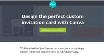 12 best evite alternatives sites like evite for event planning canva is a very easy and straightforward platform for the purpose of making elegant and creative e cards and invitation cards stopboris Image collections