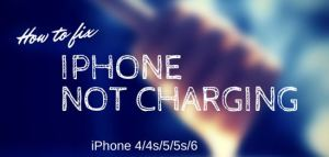 IPhone Not Charging In IPhone 4,5,6