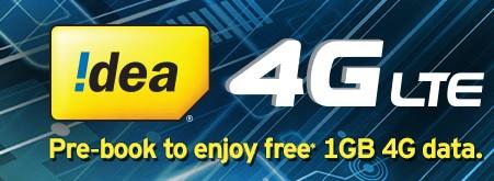idea free 4G internet