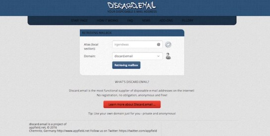 discard-email