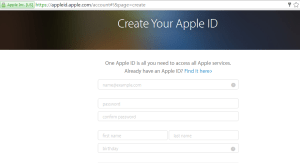 create-apple-id