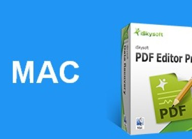 iSkysoft PDF Editor Pro for Mac To Ditch Word Processing