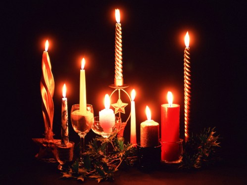 christams-candels-wallpapers