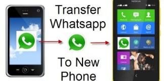 whatsapp data transfer