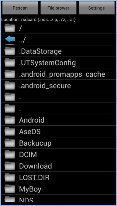 nds4droid roms