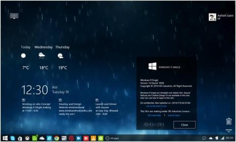25 Best Robust Rainmeter Skins For Windows 10 8 1 7 Latest