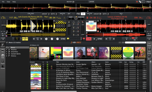 Mixvibes cross Dj Software