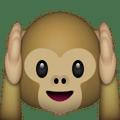 Monkey Holding Ears