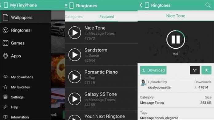 ringtone download for android