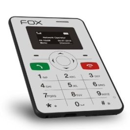 Fox Mini 1: World's Slimmest/Credit Card Size Mobile