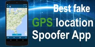 Best fake GPS location Spoofer App