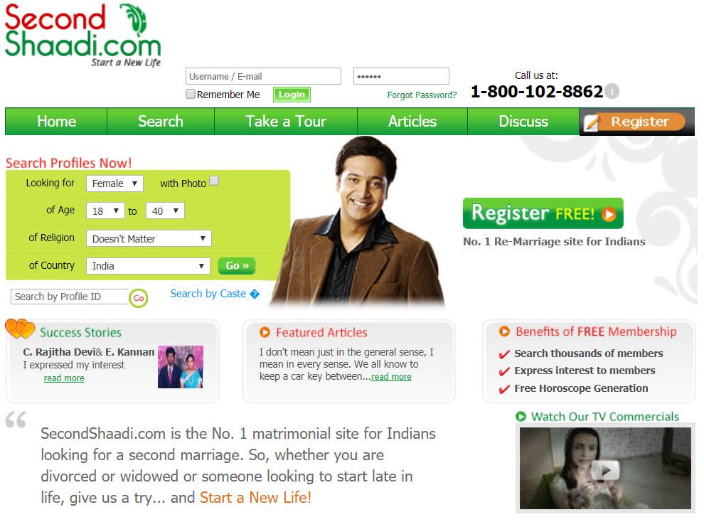 Matchmaking websites india