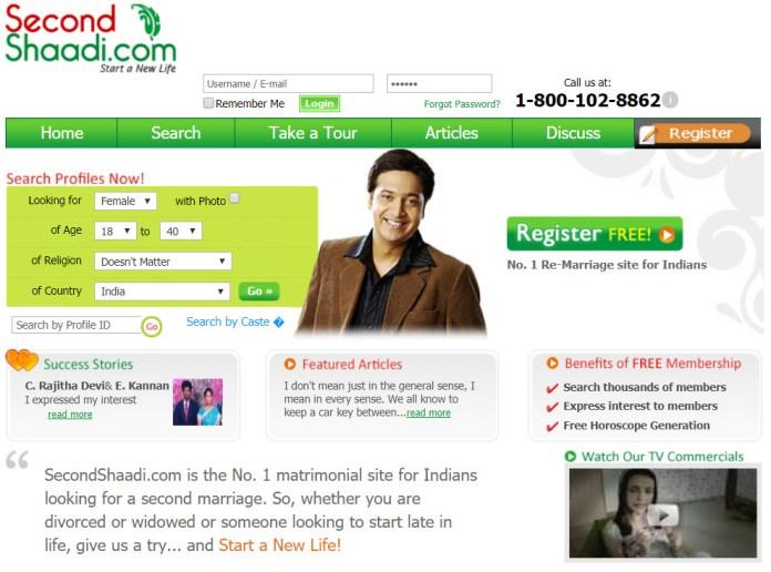 Top 10 Best Free Matrimonial sites in India Shaadi, BharatMatrimony