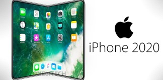 First Foldable iPhone by 2020
