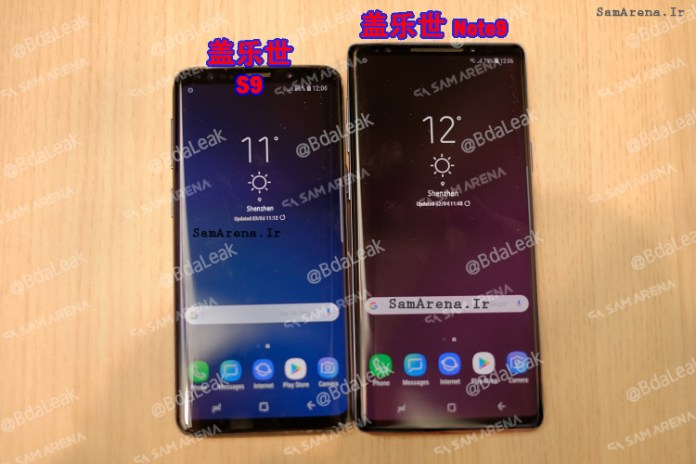 Samsung Galaxy Note 9 First Look
