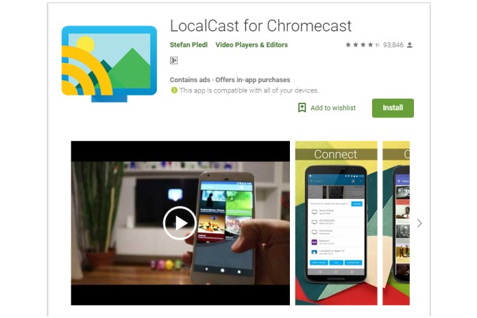 Kodi on Chromecast