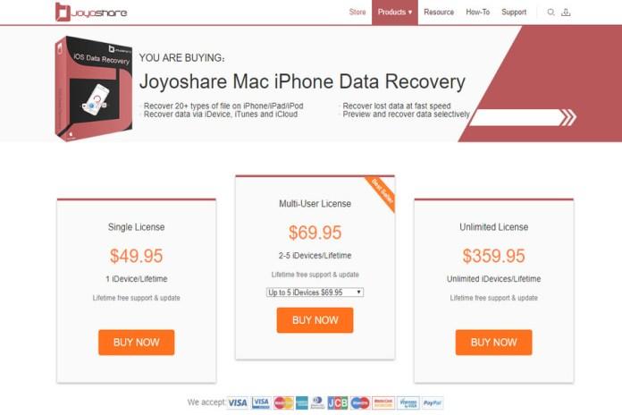 Latest joyoshare review august 2018: the best iphone database