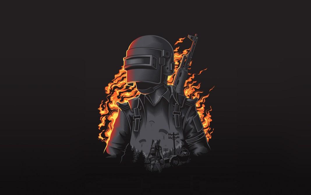 pubg burning man wallpaper hd