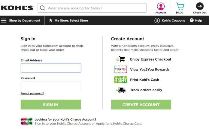 kohl's card activation