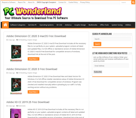 pc wonderland download software and applications