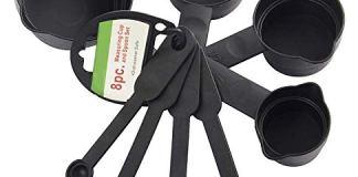 ASPERIA Premium 8pcs Measuring Cup and Spoon Set Multi Purpose Kitchen Tool, Measuring Cups for Kitchen, Measuring Cups for Baking Cake, Baking Accessories and Tools, Cake Baking Accessories