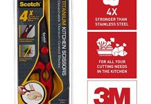 Scotch Titanium Kitchen Scissor (Red)