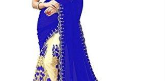 Mishty Fashion Women's Cotton Saree With Blouse Piece