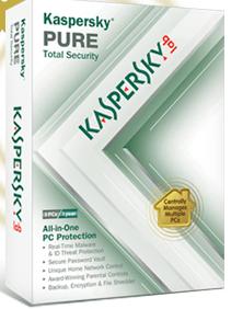 Kasperskey PURE Total Internet Security