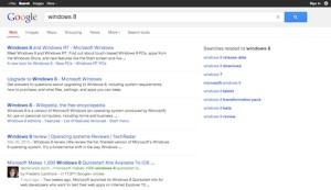 Google No URL