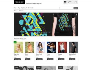 Teeshirt  WooCommerce Theme
