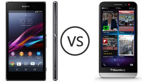 Blackberry Z30 Vs. The Sony Xperia Z