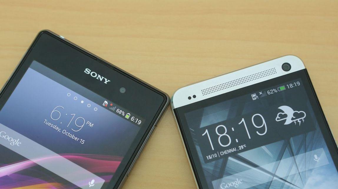 HTC One Max Vs The Sony Xperia Z1