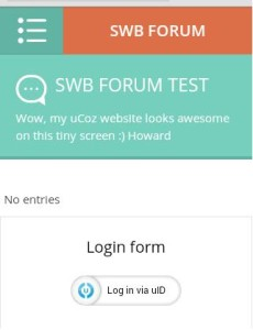 Testing uCoz Templates - HTC View