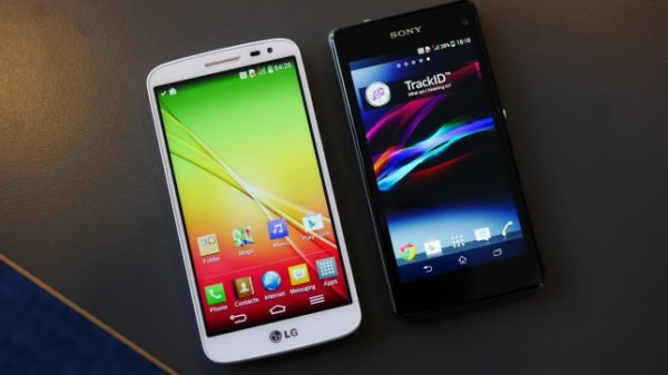Sony Xperia Z1 Compact Vs LG G2 Mini