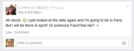 Facebook TimeLine Post