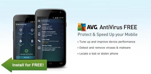 AVG Antivirus Android