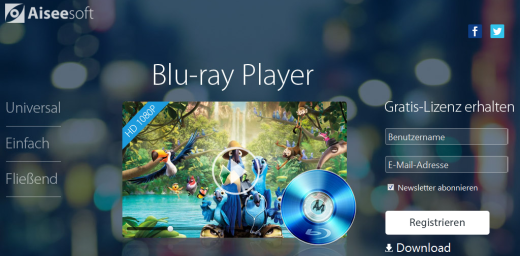 Aiseesoft Blu-ray Player Giveaway
