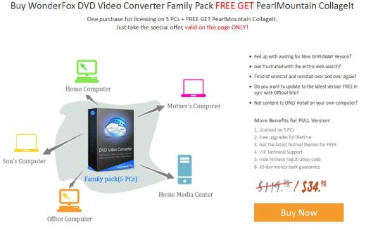 WonderFox DVD Video Converter Family Pack