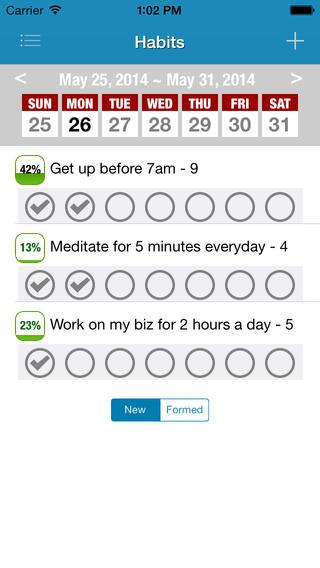 GoalsonTrack App
