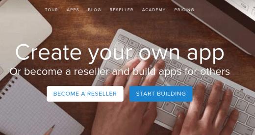 Mobile App Bbuilding Platform