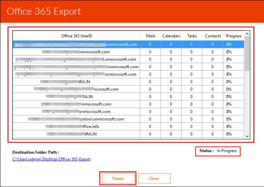 Archive Office 365 Mailbox