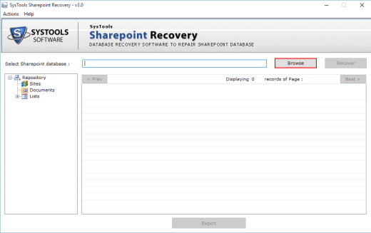 Corrupted SharePoint MDF Files