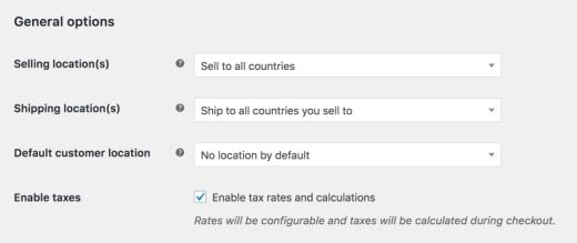 Set Up Tax