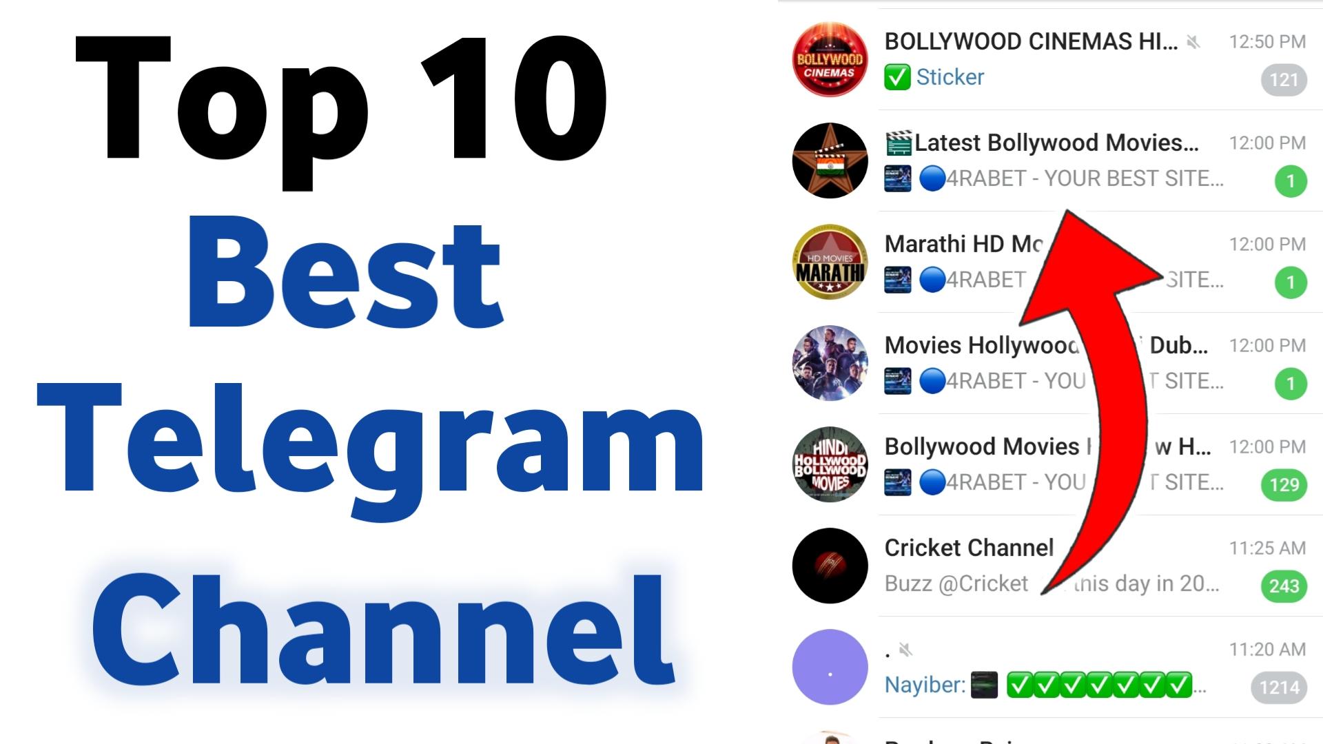 Top 10 Best Telegram Movies Channels