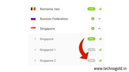 singapore servers