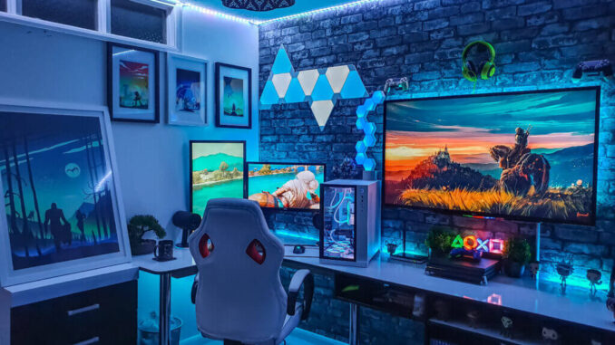 10 Best Gaming Setups For Gaming Lovers To Get The Feel