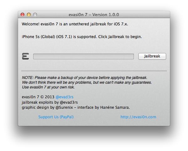 Джейлбрейк iOS 7 работает корректно (инструкция по установке)